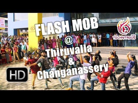 MACFAST TECHNITROUS 2K16 - Flash Mob @ KSRTC Hub Tiruvalla & Changanassery