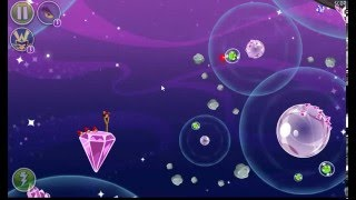 Angry Birds Space Cosmic Crystals HD Quality Android Game