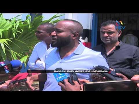 Mombasa standoff as Governor Hassan Joho demands release of county askaris