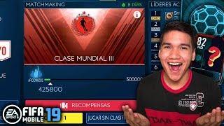 FIFA 19 MOBILE | LLEGO A CLASE MUNDIAL Y RECLAMO UN JUGADOR ELITE DE OJEAR [Dj Duvan]