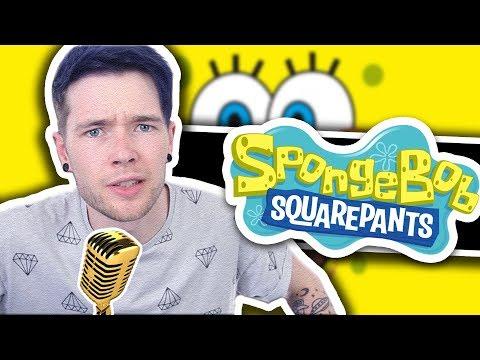 DanTDM Sings The Spongebob Squarepants Theme Song