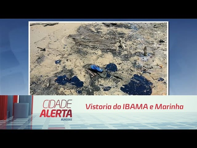 Vistoria do IBAMA e Marinha encontra óleo na foz do Rio São Francisco