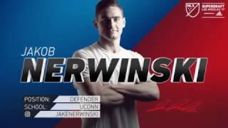 Whitecaps FC select Jakob Nerwinski in 2017 MLS SuperDraft