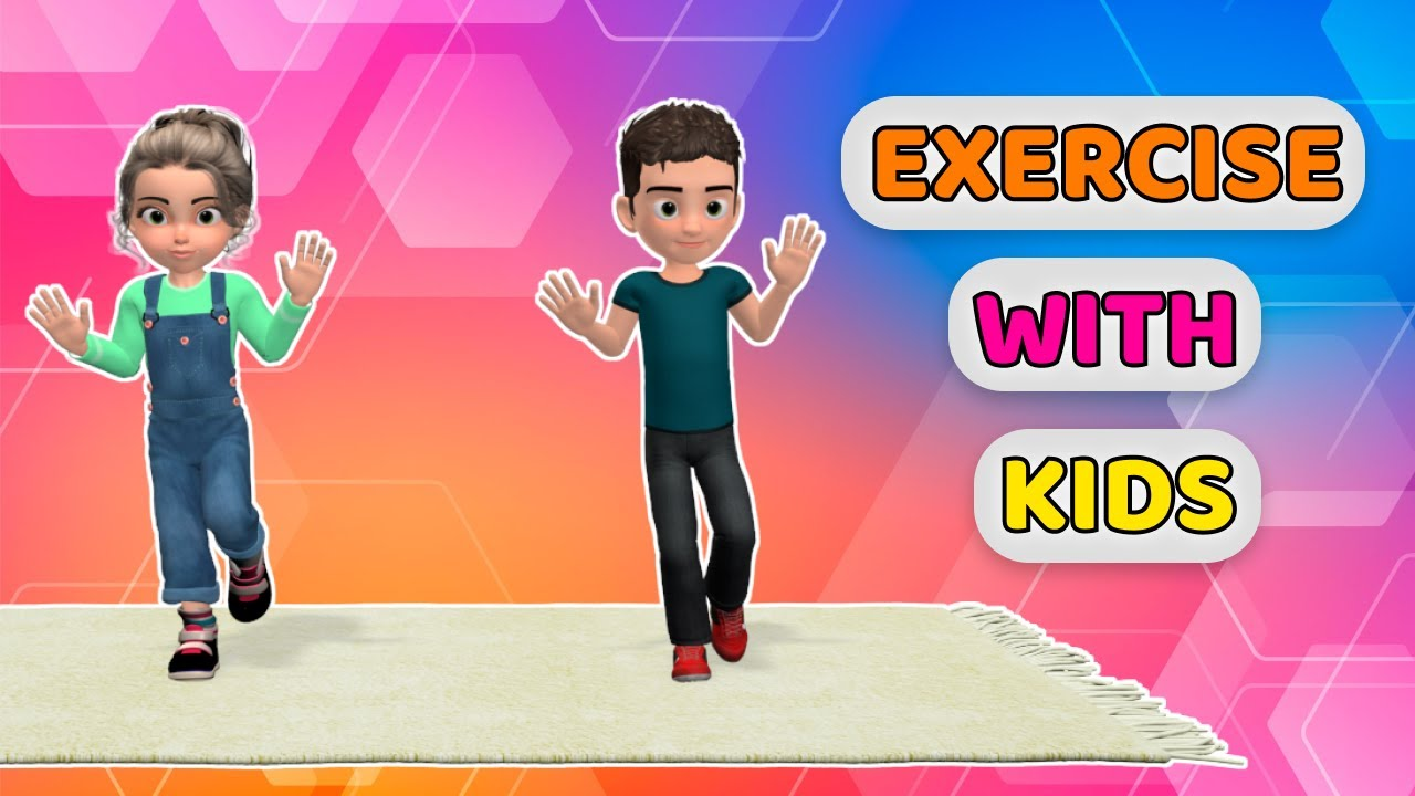 EXERCISE WITH KIDS: 25 MIN FULL BODY