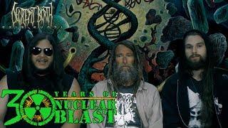 DECREPIT BIRTH - Album Title + Lyrics: Axis Mundi (OFFICIAL INTERVIEW)