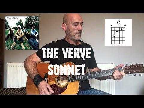 The Verve - Sonnet - Guitar lesson by Joe Murphy