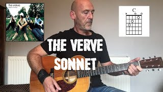 The Verve - Sonnet - Guitar lesson by Joe Murphy
