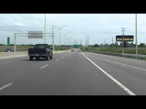 Laval Expressway (Autoroute 440 Exit 35) eastbound