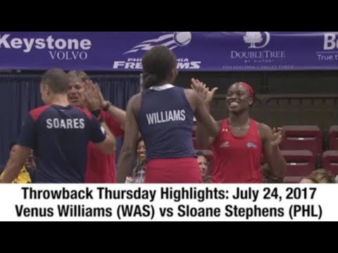 Mylan WTT TBT: Venus Williams vs Sloane Stephens