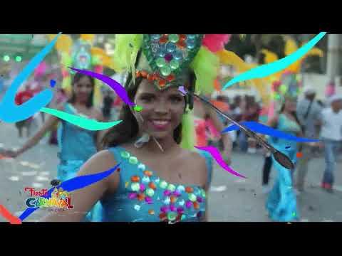 Fiesta De Carnaval En Casa 4RD   Rey y la Reina del Desfile Nacional Carnaval /5