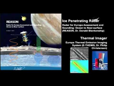 Greetings from EUROPA - Understanding This Ocean World
