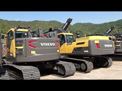 Tour Of The Volvo Excavator Plant In Korea