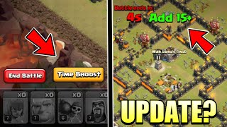 NEW MAGIC ITEM - Time Booster Update Concept | Clash of Clans Update - 2019