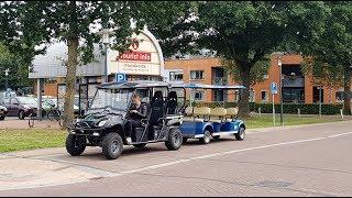 Met de speciale Tram een rondje door omgeving  Noordwolde fr.
