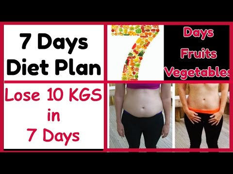 how to lose 10kg weight in 7 days