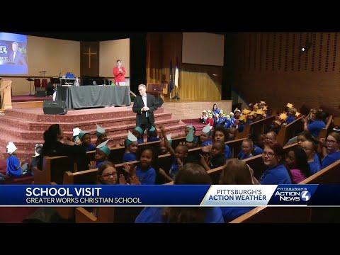 School Visit: Greater Works Christian School