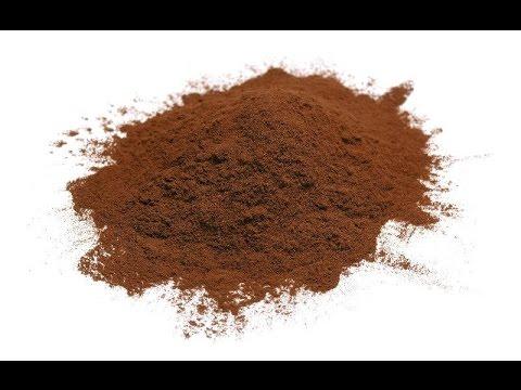 Faire de la poudre cacao en Fimo