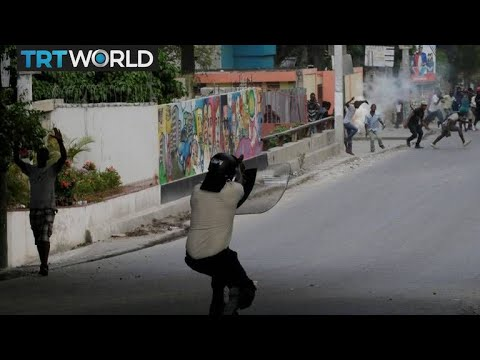 Haiti Protests: Port-au-Prince shut down by violent protests