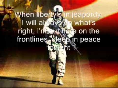 American Soldier Lyrics