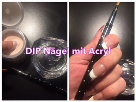 DIY - Acryl DIP Powder Nails