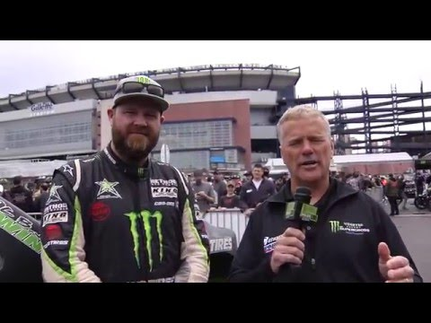 2016 - Race Day LIVE! - Toyota Tailgate Talk - Monster Energy Smoke Show with BJ Baldwin