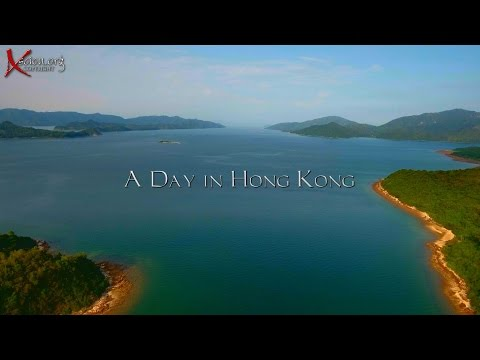 A Day in Hong Kong with the Drone! 4K