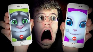 N'appelle JAMAIS talking TOM et talking ANGELA en FACETIME !! (réel)