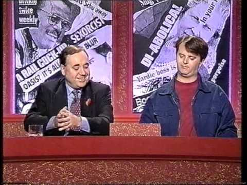 Have I Got News For You 1995 - Bob Mills and Alex Salmond