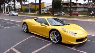 Ferrari 458 Italia Accelerating and Downshifts