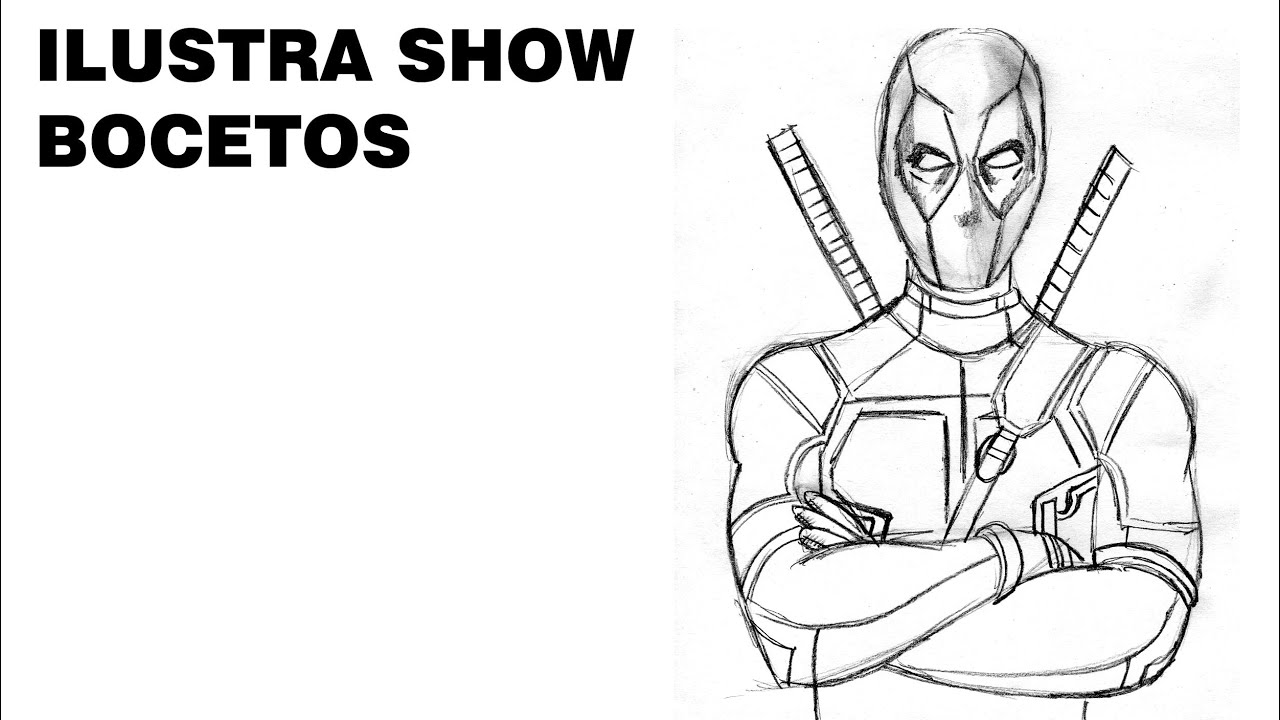 Famoso Deadpool Para Colorear Para Niños Festooning - Ideas ...