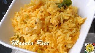 Masala Ghee Rice - By Vahchef @ Vahrehvah.com