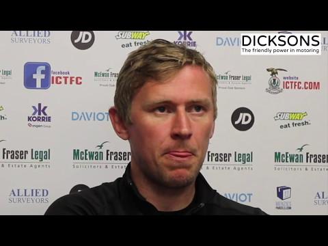 CaleyJagsTV : Richie Foran Match Preview v Kilmarnock : 11/05/17