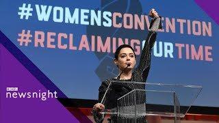 Rose McGowan on Weinstein - BBC Newsnight