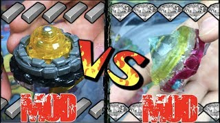 Metal Frame Mod VS Diamond Mod ! | MOD VS MOD | Beyblade Battle
