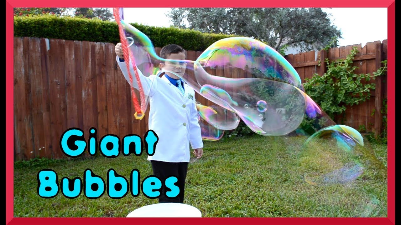 the science of giant bubbles make giant bubbles episode 36