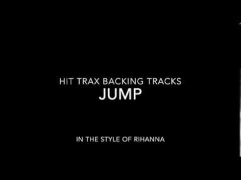 Jump (in the style of) Rihanna MIDI File MP3 Backing Track