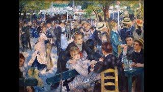 Pierre-Auguste Renoir, Bal du moulin de la Galette, 1876, oil on ca...