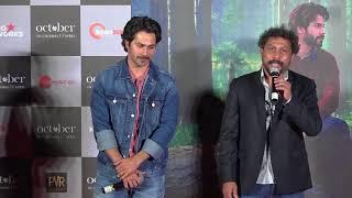 October Trailer Launch   Varun Dhawan   Banita Sandhu   Shoojit Sircar   Part 01