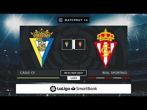 Cádiz CF - Real Sporting MD14 V1600