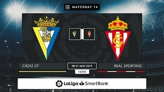 Cádiz CF Real Sporting MD14 V1600