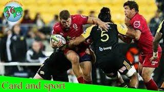 Crusaders vs Hurricanes: Super Rugby
