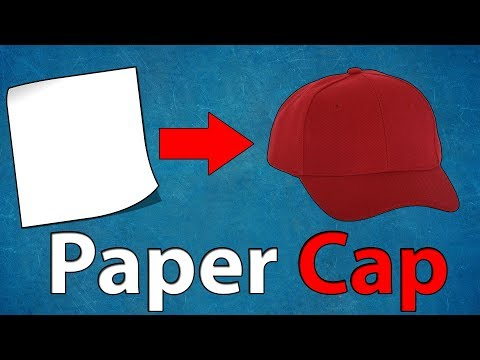 How to Make Cap With Paper - How to Make Paper Things at Home #10