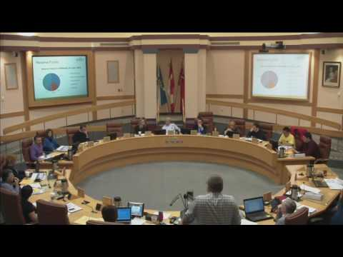 2017 Capital Budgets General Committee Session from Saturday, October 15, 2016.  Part 1