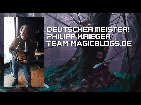 Philipp Krieger - der deutsche Meister von #TeamMagicBlogsDe