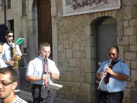 Casalanguida 2012 - Festa di San Donato e della Madonna del Carmine - Banda di Luciano Ricotta