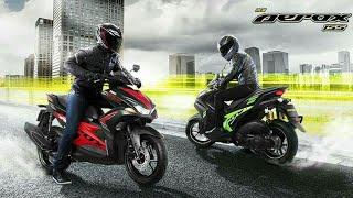 Lebih keren Warna Baru Yamaha Aerox 155 Versi Thailand