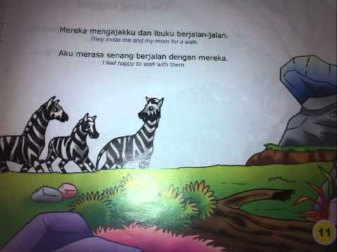 "The story  for children "" Zizi Zebra "" by Indy"
