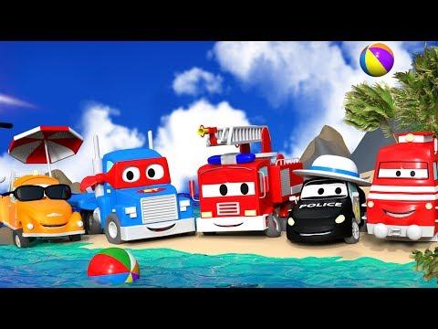Bilköping på semester ☀ SOMMARSAMLING ⛵ Tom, Carl, Mat och Troy på stranden :♒