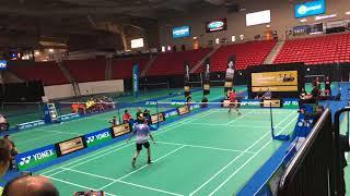 Taufik Hidayat Peter Gade Lee Yong Dae Tony Gunawan Exhibition Badminton Legends' Vision Tour Vegas