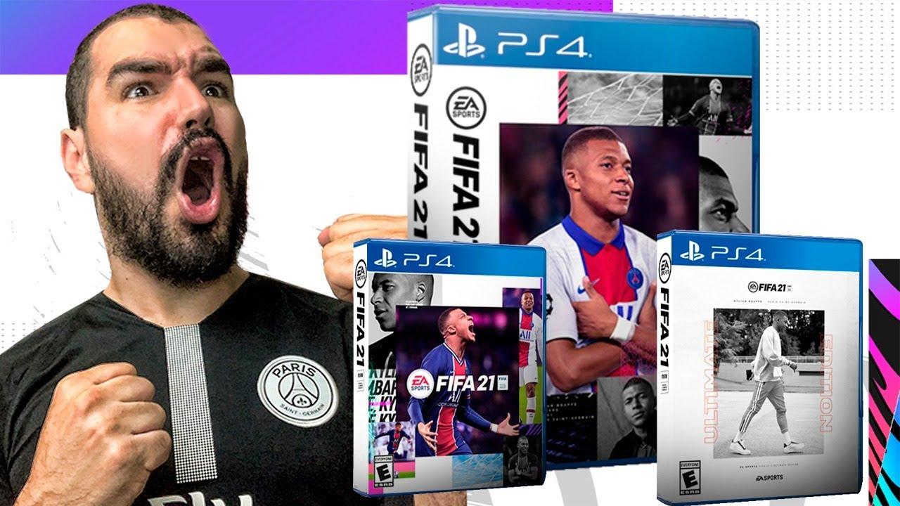 PORTADAS OFICIALES DE FIFA 21 | ¿QUÉ FIFA DEBO COMPRAR?